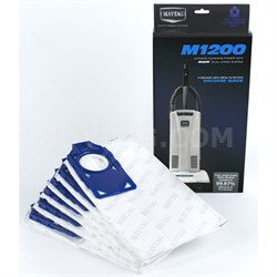 M1200 Self-Sealing HEPA Media Bags (6 Pack)
