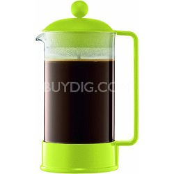 Brazil 8 Cup French Press Coffee Maker - Lime Green