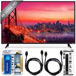 E50u-D2 - 50-inch 4K Ultra HD SmartCast LED Smart TV Essential Accessory Bundle
