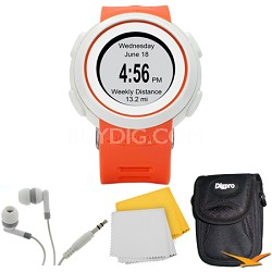 Echo Smart Running Watch Bundle (Orange)