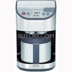 Precision Programmable 10-Cup Coffee Maker w/ Stainless Steel Carafe - KT611D50