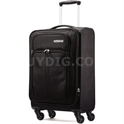 "Splash Spin LTE 20"" Black Spinner Luggage - OPEN BOX"