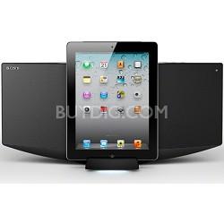 CMT-V50IP - Micro HI-FI Shelf System w/ iPod Dock
