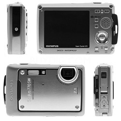 Stylus 770 SW (Silver) 7.1 MP Digital Camera with 3x Opitical Zoom