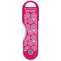 32GB Twistturn Pink Swirls USB Memory Flash Drive