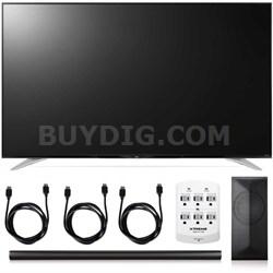 65UF7700 - 65-Inch 120Hz 2160p 4K Smart LED + LAS751M 4.1 Channel Soundbar