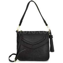 Tortoli Cross Body Bag - Black Handbag