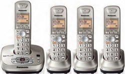 KX-TG4024N DECT 6.0 Expandable Digital Cordless Answering System - OPEN BOX
