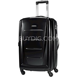 "Winfield 2 24"" Hardside Spinner Luggage (Black)"