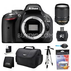 D5200 DX-Format Digital SLR Camera Body 18-140mm Lens Kit
