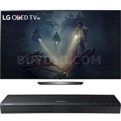 "OLED65B6P 65"" 4K UHD OLED Smart TV w/ Samsung 4K UHD Smart Blu-ray Player"