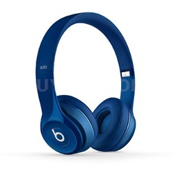 Dr. Dre Solo2 Wired On-Ear Headphones (Blue)