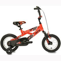 Boy's Bike (12-Inch, Orange/Black)