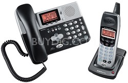5.8 GHz 2-Line Corded/Cordless Answering System with Caller ID/Call Waiting