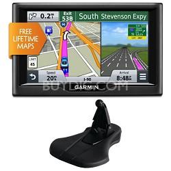 "nuvi 57LM 5"" Essential Series 2015 GPS Navigation System w Lifetime Maps Bundle"
