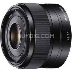 SEL35F18 - 35mm f/1.8 Prime Fixed Lens - OPEN BOX