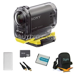 HDR-AS15/B Compact POV Wi-Fi Enabled Action Camera Anti Fog Bundle