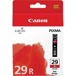 PGI-29 RED - LUCIA Series Red Ink Cartridge for Canon PIXMA PRO-1 Printer