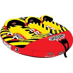 Speedzone 3 Inflatable Triple Rider Towable