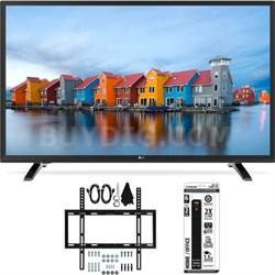 43LH5000 43-Inch Full HD 1080p LED TV Slim Flat Wall Mount Bundle