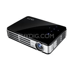 Qumi Q2 300 Lumen WXGA HDMI 3D-Ready Pocket DLP Projector (Black)