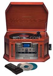 CR248 Songwriter CD Burner & Turntable (Paprika)