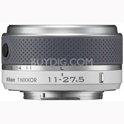 1 NIKKOR 11-27.5mm f/3.5 - 5.6 Lens (White) (3322)