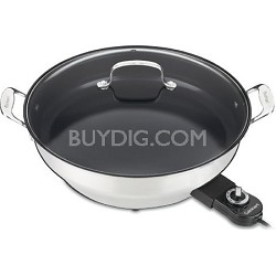 CSK-250 GreenGourmet 14-Inch Nonstick Electric Skillet - Factory Refurbished