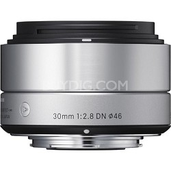 30mm F2.8 EX DN ART Lens for Sony (Silver) - OPEN BOX
