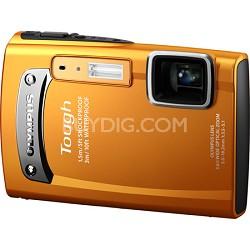 Tough TG-310 14 MP Waterproof Shockproof Freezeproof Digital Camera - Orange