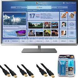 50 Inch Cloud LED TV 1080p  Smart Wifi 120Hz (50L4300) Starter Bundle