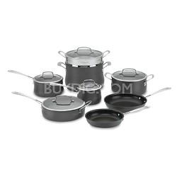 64-13 Contour Hard Anodized 13-Piece Cookware Set
