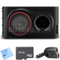 Dash Cam 30 Standalone HD Driving Recorder 16GB microSD Card Bundle