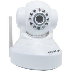 FI8918W Wireless Pan & Tilt IP/Network Cam w/Night Vision (White)