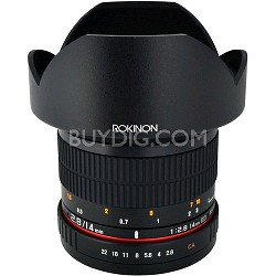 14mm f/2.8 IF ED MC Aspherical Super Wide Angle Lens-Olympus/Panasonic Micro 4/3