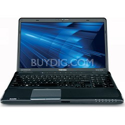 "Satellite 15.6"" A665D-S5178 Notebook PC AMD Phenom II Quad-Core Mobile -OPEN BOX"