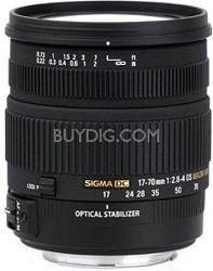 17-70mm f/2.8-4 DC Macro OS HSM Lens for Canon Mount Digital SLR Cameras