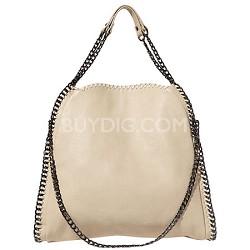 Steve Madden Totally ChainTote Bag (Cream)