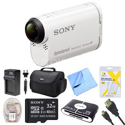 HDR-AS200V/W High Definition POV Action Video Camera 32GB Kit