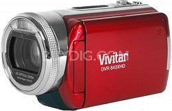 """DVR 840XHD 8.1MP 3.0"""" LCD Camcorder (Red)"""