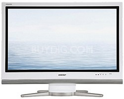 "LC-32GP3U-W AQUOS 32"" High-definition 1080p ""Video Gamers"" LCD TV (White)"
