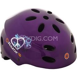 V17 Childrens Ages 5 - 8 Helmet - Gloss Purple