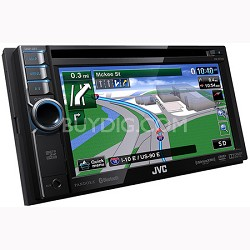"""Bluetooth DVD/CD/USB/SD Navigation System w/ 6.1"""" Touch Panel Monitor (KWNT310)"""