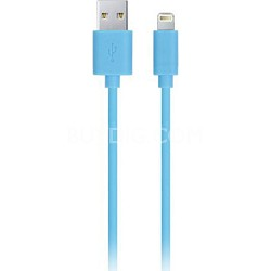 Apple Certified 6.5' 8-Pin Lightning to USB Charge and Sync Cable Blue