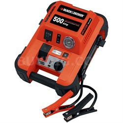 JUS500IB 500-Amp Jump Starter with Built-in Tire Inflator  (JUS500IB)
