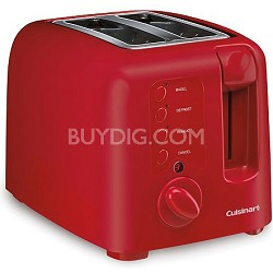 CPT-120R Electric Cool Touch 2-Slice Toaster, Red