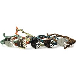 Braided Bracelets with Toggle Pull (Multiple Colors)
