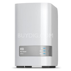 4TB WD My Cloud Mirror Personal Cloud Storage