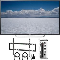 "XBR-65X750D - 65"" Class 4K Ultra HD TV w/ Flat Wall Mount Bundle"