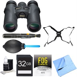7549 Monarch 7 Binoculars 10x42 Adventure Bundle